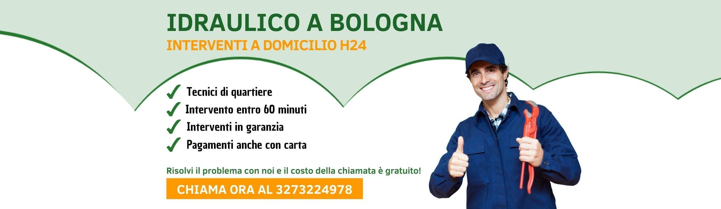 Idraulico a Bologna h24